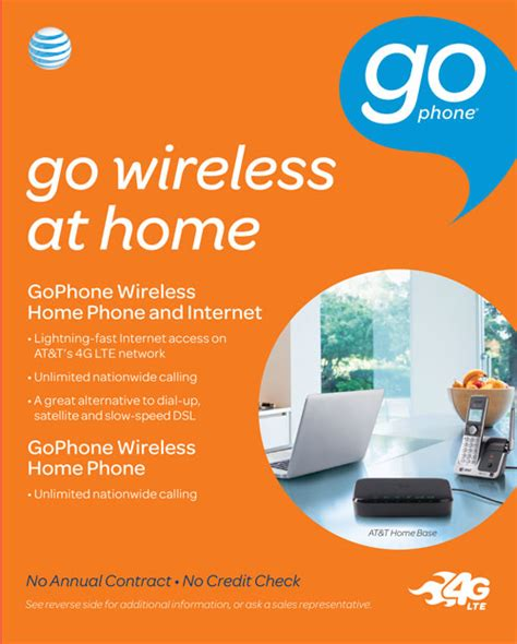 att home phone plans at t gophone launches wireless home internet plans