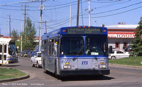 West Edmonton Mall Garage by Edmonton Transit System 2001 New Flyer D40lf 4234 4299