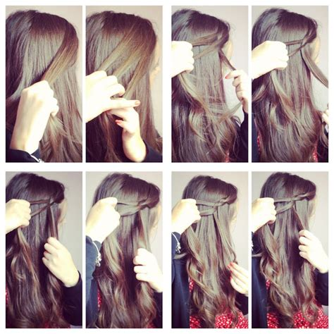 how to waterfall braid step by step baking beautiful how to waterfall braid