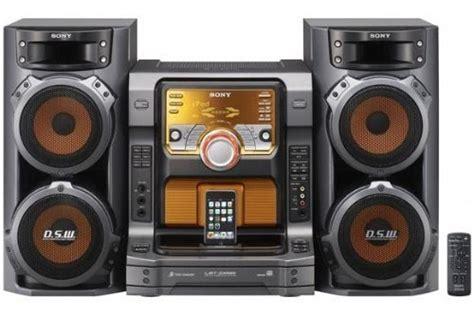 boat dock stereo system sony muteki 560 watts hi fi stereo shelf audio system with