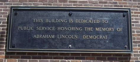 abraham lincoln democrat or republican northeastern illinois plaque abraham lincoln democrat