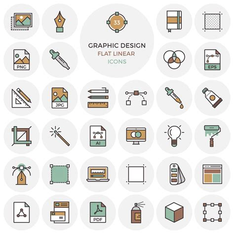 flat design icon vector flat vector graphic design icon icons fribly