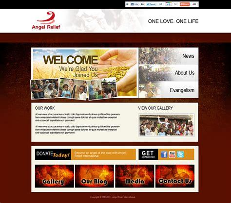 Ministry Website Design And Logo Design Ministry Website Templates