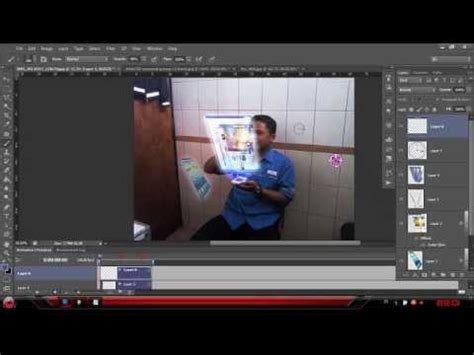 tutorial membuat video hologram tutorial membuat efek hologram di photo shop youtube