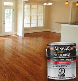 Wood Floor Refinishing Products Minwax 174 Fast Drying Polyurethane For Floors 350 V O C Hardwood Floor Finishing