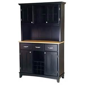 large hutch buffet large buffet server with hutch black 6004066 hsn