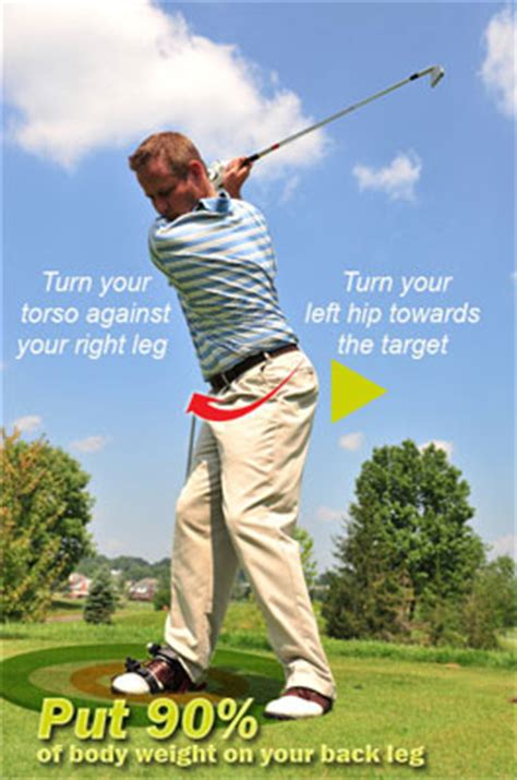 turn back turn through golf swing how to fix reverse pivot in golf swing lessons golf