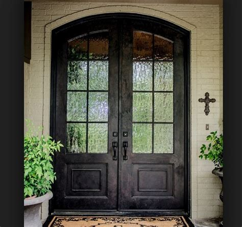 Interior Rustic Wood Front Doors With Glass Design Wood Front Doors With Glass