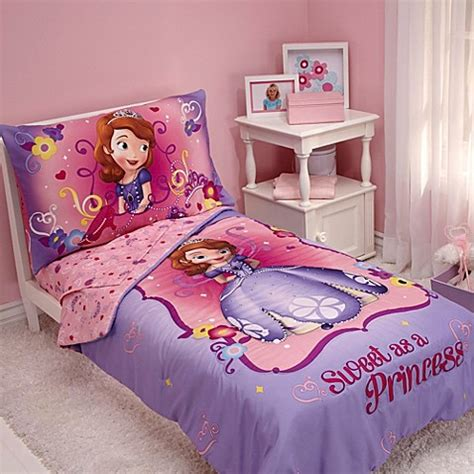 princess toddler bed set buy nojo 174 disney 174 sofia the first quot sweet as a princess quot 4