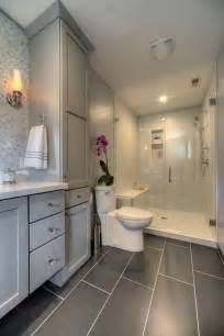 gray bathrooms ideas master bathroom with glass walk in shower large gray