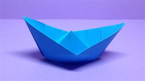 origami boats for beginners how to make a paper boat easy origami boats for