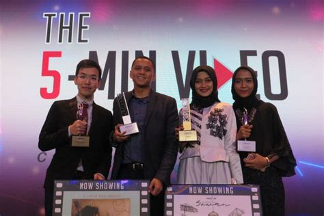 film pendek sowan film chick chick dan sowan menang di 5 min video challenge
