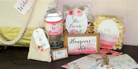 Wedding Welcome Bags by What Should Be In My Destination Wedding Welcome Bag