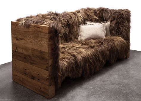 faux fur couch fur sofa european style white black grey orange solid faux