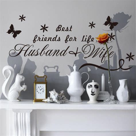 Best Wall Stickers quote wall decal decor life best friend wall sticker text