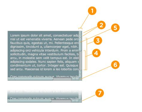 css div scrollbar style css自定义浏览器滚动条样式