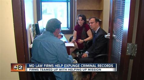 Expunging A Criminal Record In Maryland Maryland Firms Help Expunge Criminal Records One News Page