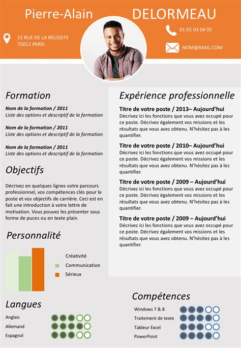Manager Cv by Exemple De Cv Manager Gratuit 224 T 233 L 233 Charger