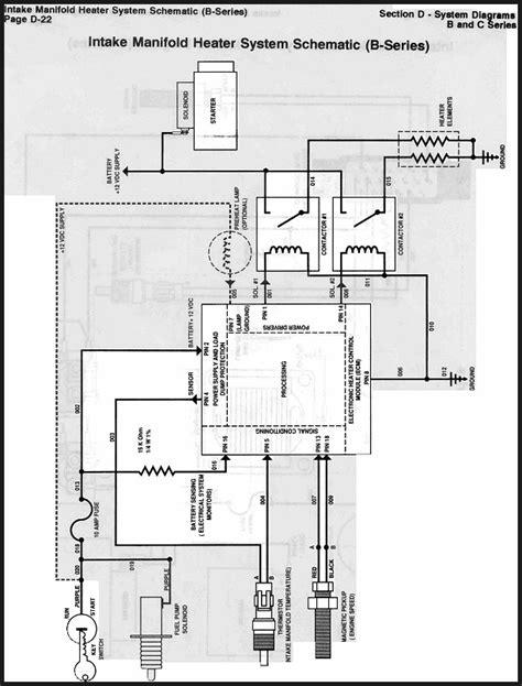 6 7 Cummins Grid Heater Wiring Diagram