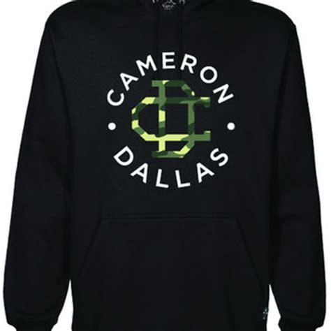 Hoodie Magcon Tour Logo Brothersapparel cameron dallas hoodie black camo from magcon tour things i want