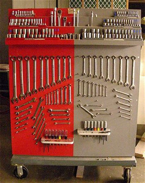 Wrench Storage Garage Journal 25 Best Ideas About Tool Cart On Tool