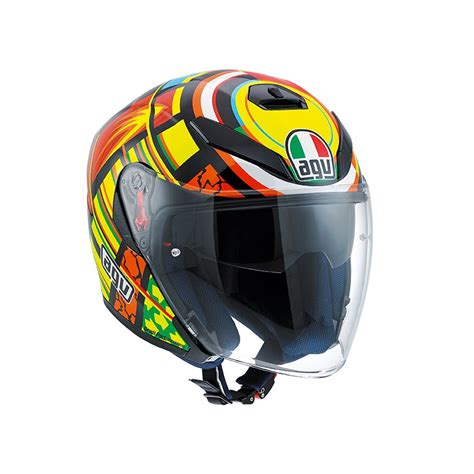 Helm Agv Vr Agv K5 Jet Elements Helm Valentino Chion Helmets