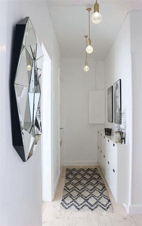 tips  decorate  small hallway kreavilla hallway