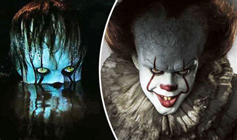 film it the clown it movie pennywise the clown horrifies in comic con