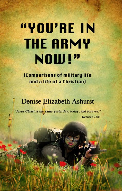 you re the now you re in the army now pride in purity