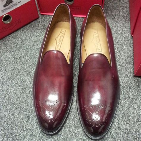 whole cut loafers j fitzpatrick laurelhurst whole cut loafer burgundy