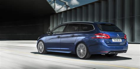 peugeot 208 estate car peugeot 308 gt warm hatch and wagon revealed