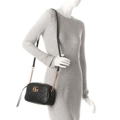 Gg Marmont Matelass Shoulder Bag gucci calfskin matelasse small gg marmont shoulder bag black 175535