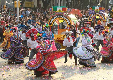 Day Of The thousands celebrate day of the dead in mexico city parade