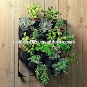Indoor Vertical Garden Plants Indoor Outdoor Plastic Vertical Garden Green Pots And