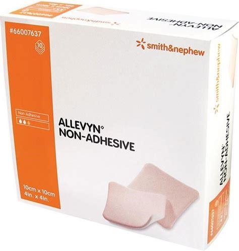 Allevyn Non Adhesive 10 Cm 20 Cm Foam Dressing allevyn non adhesive dressing 5cm x 5cm x 10 world
