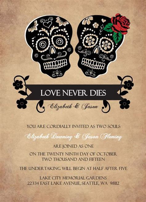 printable halloween wedding invitations printable halloween wedding invitations ideas and inspiration