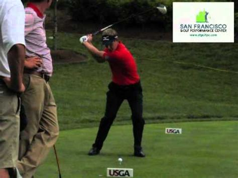 luke donald iron swing world no 1 luke donald driver fo slow motion golf swing us