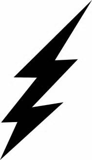 Lightning Bolt Picture Free Flash Lightning Bolt Coloring Pages