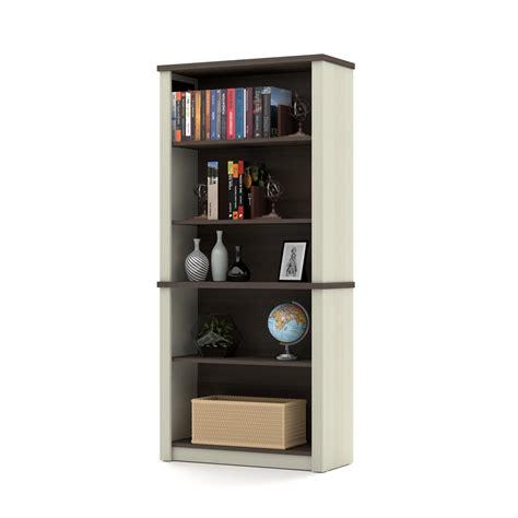 Prestige Modular Bookcase In White Chocolate Antigua White Modular Bookcase