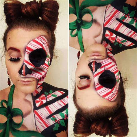 google christmas makeup this self taught make up artist creates the most imaginative makeup sheep
