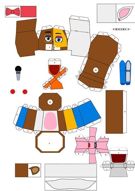 Papercraft World - papercraft f naf world pictures to pin on