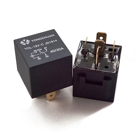 Relay 5 Volt Dc 5x 12v 12 volt dc 40a relay socket spdt 5pin 5 wire