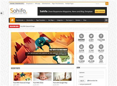 sahifa theme sles 13 best selling wordpress themes on themeforest 2015