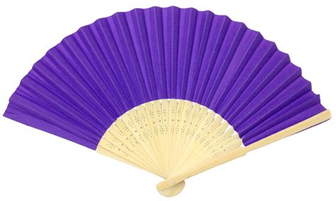 Folding Paper Fan - folding paper fan 8 25 quot purple