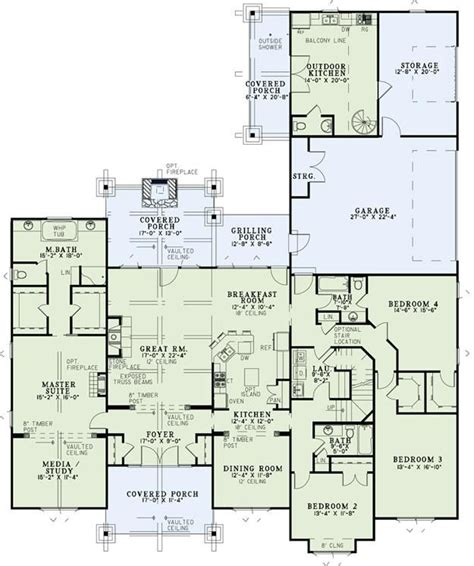 dream kitchen floor plans floor plan idea houseplans dream house floor plans