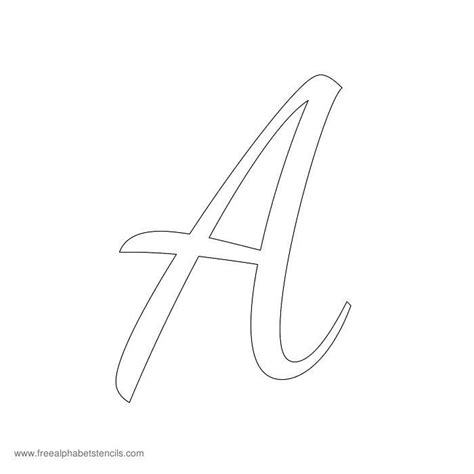letter stencils template 25 best ideas about alphabet stencils on d