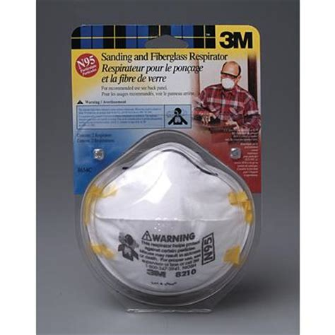 3m 3m sanding and fiberglass insulation respirator 2 pack