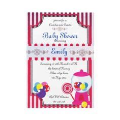 Candyland Baby Shower Invitations by Candyland Invitations On Candyland Birthday