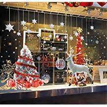 fr decoration vitrine noel