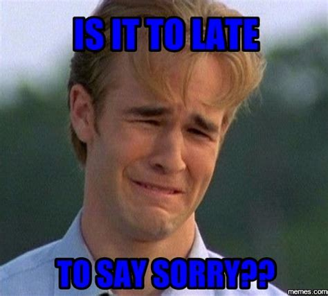 Apology Meme - yom kippur sorry memes bang it out funny jewish videos
